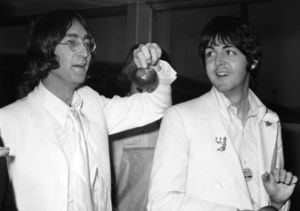 John Lennon & Paul McCartney's Look-Alike Sons Post Epic Selfie