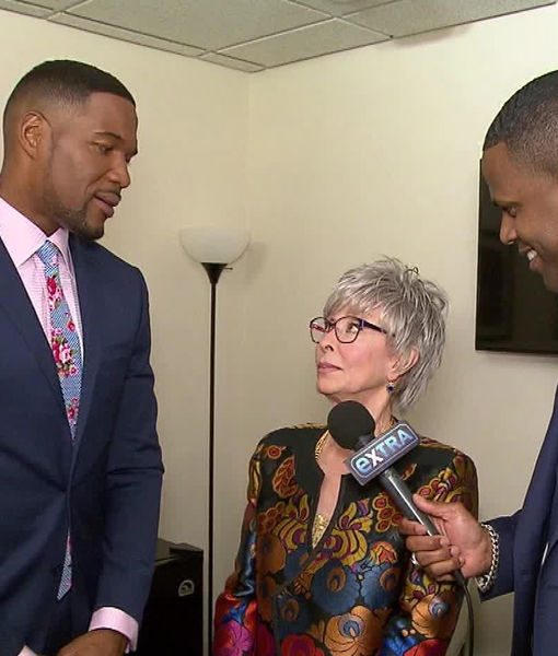 Michael Strahan on Rita Moreno's Appearance on '$100,000 Pyramid'