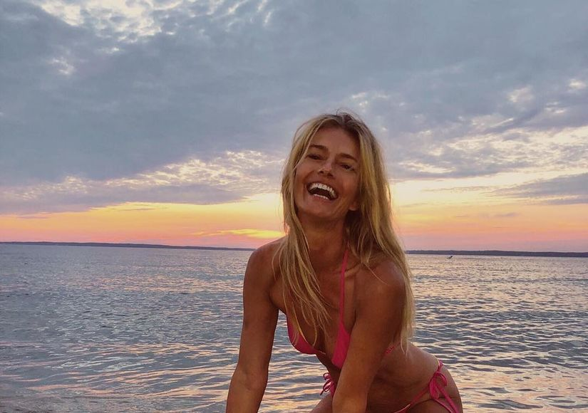Model Paulina Porizkova Shows Off Revenge Bikini Body at 53