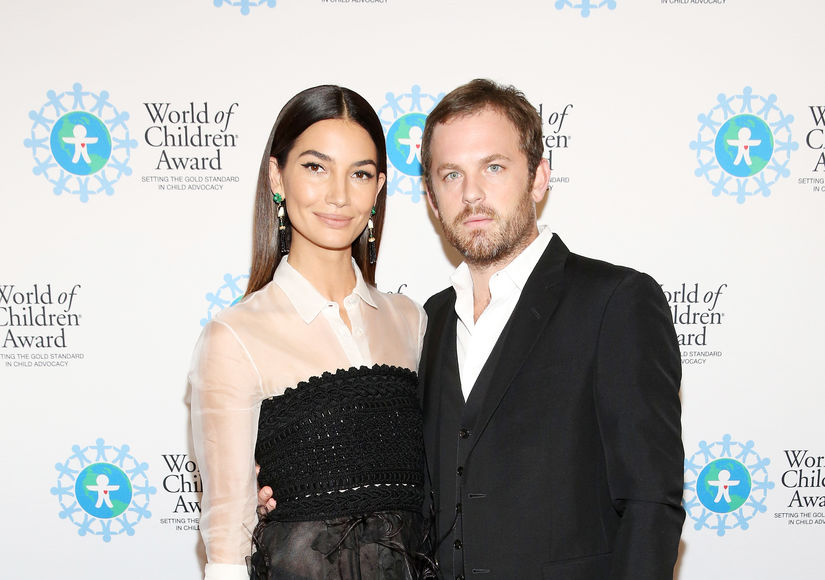Lily Aldridge & Caleb Followill Expecting Baby #2 – See Her Baby Bump!