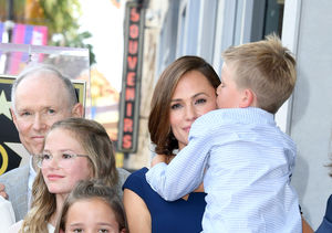 Getting So Big! Jennifer Garner's Kids Make Rare Appearance at Walk…