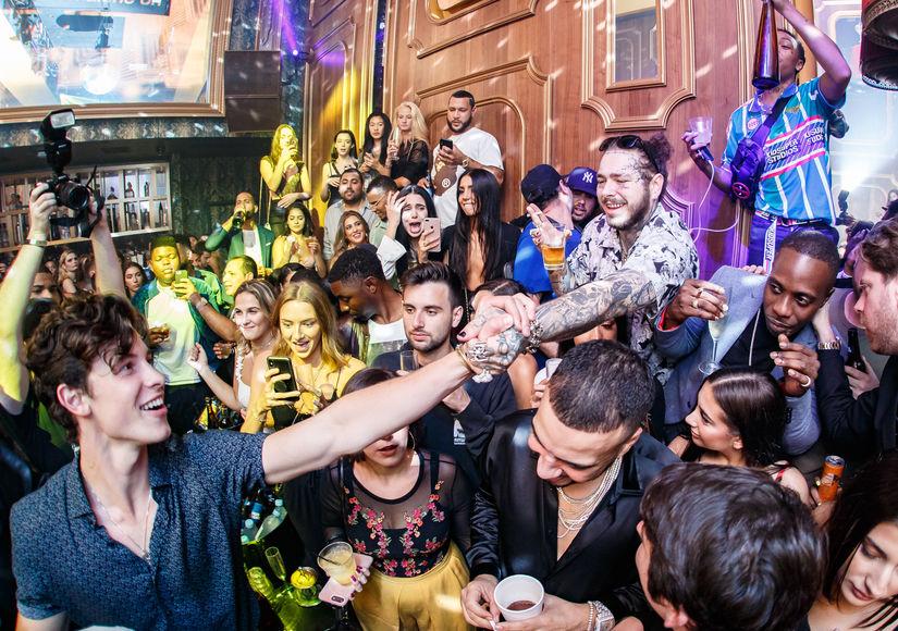 Shawn Mendes & Post Malone, Avenue NY, VMAs