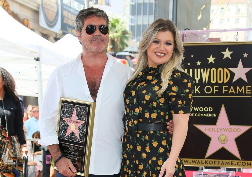 Simon Cowell Talks Hilarious 'American Idol' Reunion on 'Kelly Clarkson…