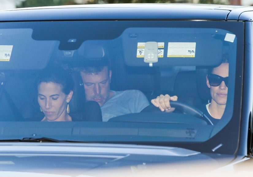 Pics: Ben Affleck Driven to Rehab by Jennifer Garner