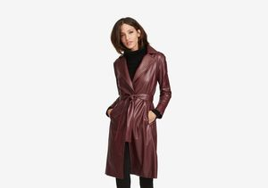 The Vegan Leather Trench, Boyfriend Coat and More! R Label Has All the Fall…