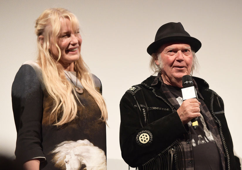 Did Daryl Hannah & Neil Young Get Married? See the Instagram Post Fueling Rumors
