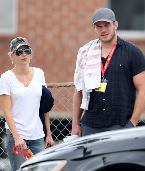 Friendly Exes! Chris Pratt & Anna Faris Spotted Together After Split