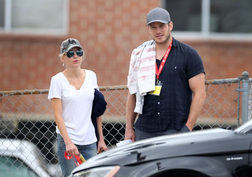 Friendly Exes! Chris Pratt & Anna Faris Spotted Together