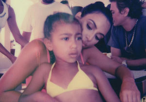 Why Kim Kardashian Was Just Mom Shamed Over This Pic of North West