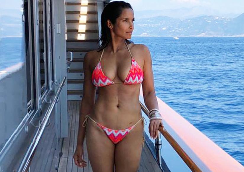 Padma Lakshmi Celebrates 48th Birthday with Bikini Pic