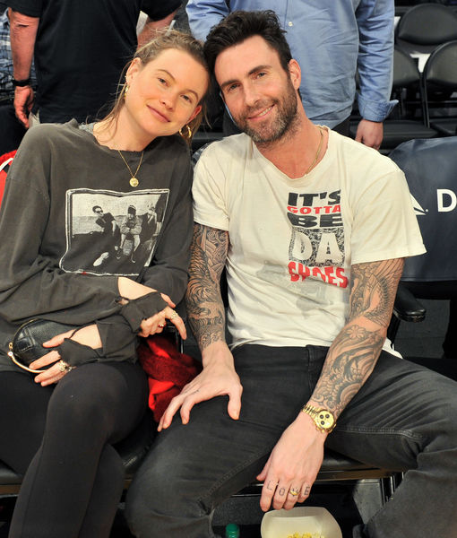 Adam Levine & Behati Prinsloo's Daughters Are So Cute! See the Rare Pic