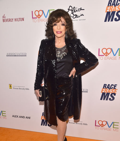 Joan Collins Says Party Hopping on Oscar Night Led to 'AHS' Casting