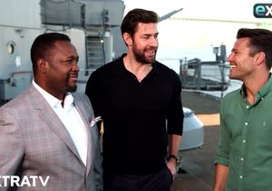 John Krasinksi Talks 'Jack Ryan' and What Emily Blunt Thinks of His…