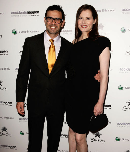 Geena Davis Claims She Was Never Married to Dr. Reza Jarrahy