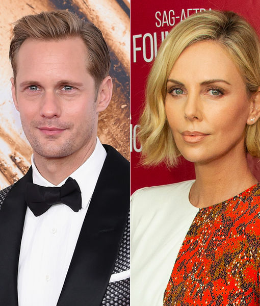 Alexander Skarsgård Takes on Charlize Theron Dating Rumors