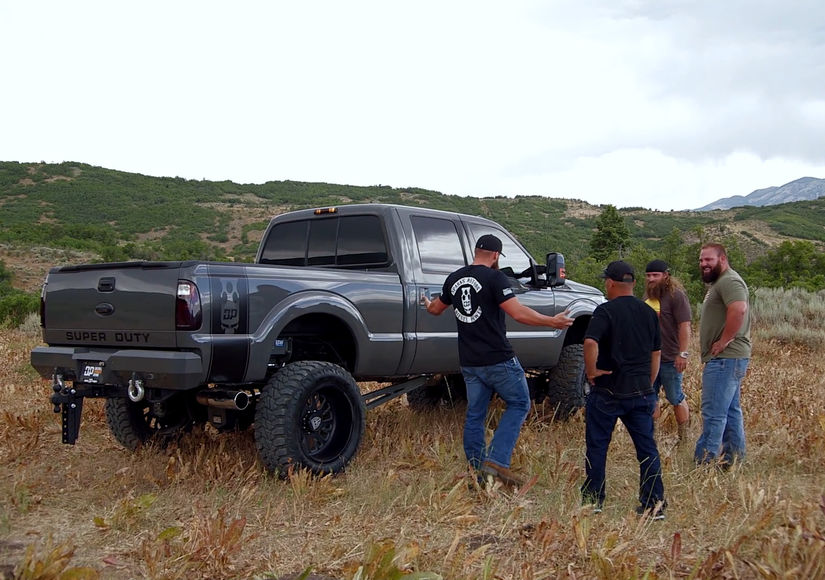 Diesel Brothers Truck Giveaway >> First Look At Diesel Brothers Overhauling A Truck After Gone Viral