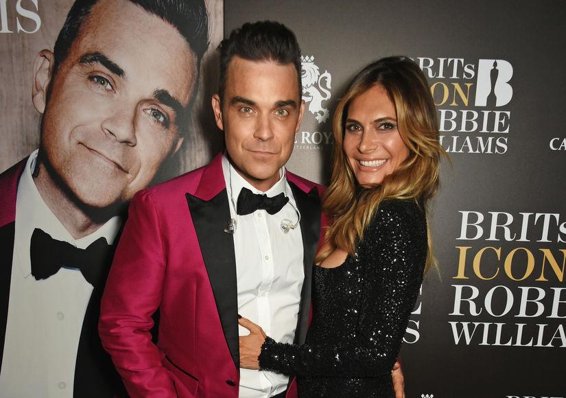 Robbie Williams & Ayda Field Welcome Baby #3 via Surrogate
