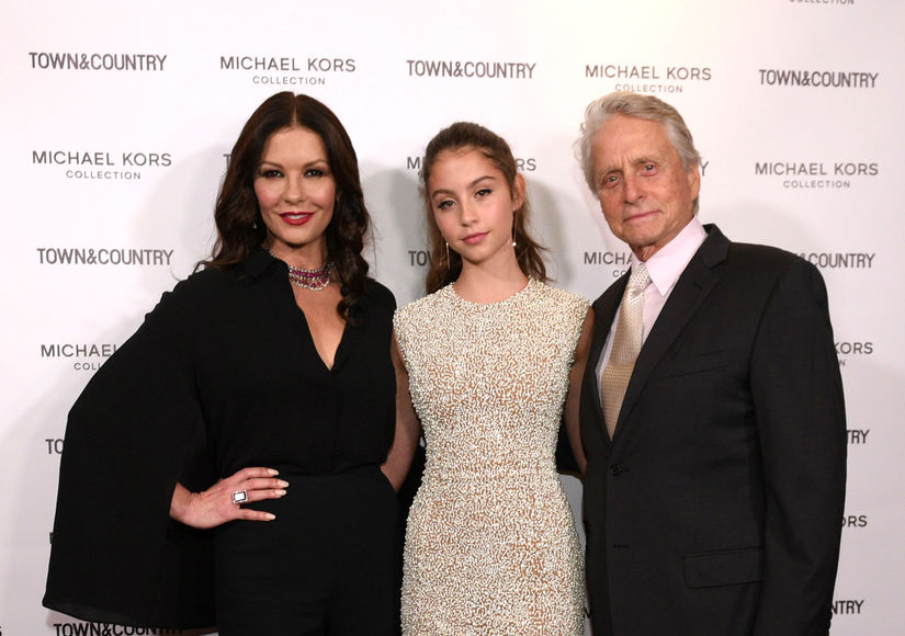 Catherine Zeta-Jones & Michael Douglas Gush About Their Kids Growing Up