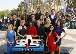 'Extra' Kicks Off Season 25 with On-Air Reunion Party!