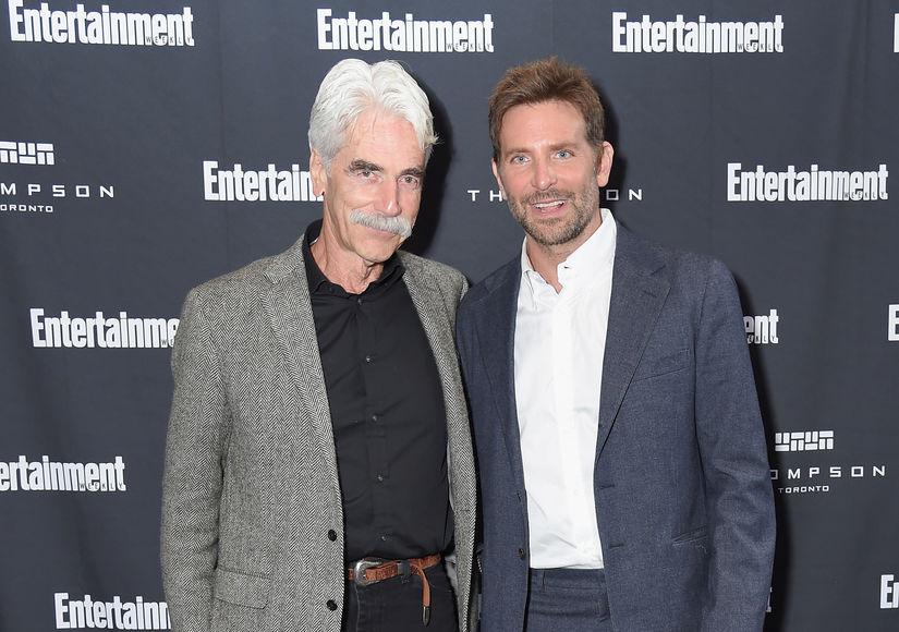 How Bradley Cooper & Sam Elliott Broke the Ice Before Filming 'A Star Is…