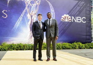 Emmy Hosts Colin Jost & Michael Che Tease TV's Biggest Night!