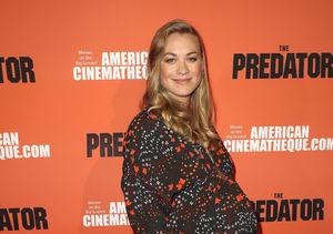 Baby Bump Alert! Yvonne Strahovski Is 'Mega Preggy' as She Hits the Red…