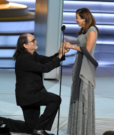 Surprise! Couple Gets Engaged During Emmys 2018 Telecast