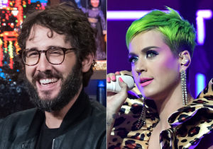 Josh Groban's Priceless Reaction to Katy Perry Calling Him 'The…