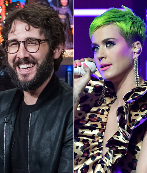 Josh Groban's Priceless Reaction to Katy Perry Calling Him 'The One That…