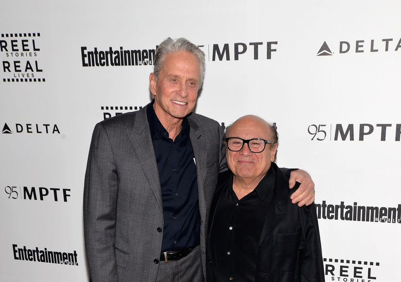 Danny DeVito Recalls That One Time He Saved Michael Douglas' Life