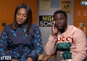 Watch! Tiffany Haddish & Kevin Hart Go Off the Rails in This 'Extra'…
