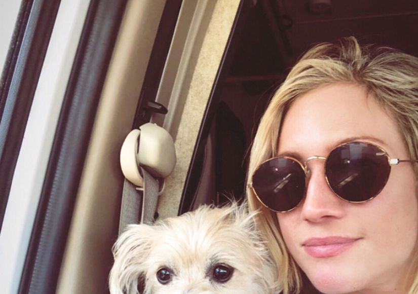 Brittany Snow's Road Trip with Adorable Dog Billie, Plus: Her Thoughts on…