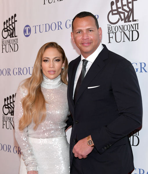 A-Rod Honored at Great Sports Legends Dinner, J.Lo Joins Him to Support 'Amazing Cause'