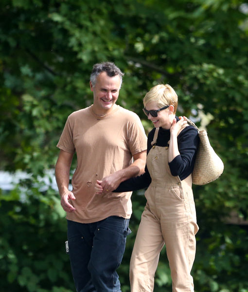 Pics! Michelle Williams & Phil Elverum Spotted for First Time After Secret…