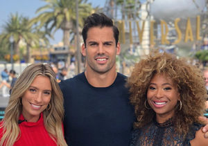 'Extra' Guest Co-Host Eric Decker Reveals His Pick to Play Him in a Movie