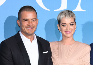 Katy Perry & Orlando Bloom Hit First Red Carpet Together