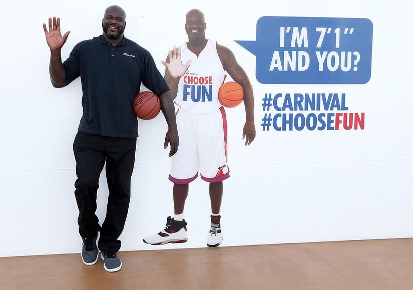 Carnival Horizon's Epic Shipboard Celebration with Shaq!