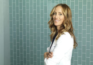 Kim Raver Talks 'Grey's Anatomy' Season Ending Early During…