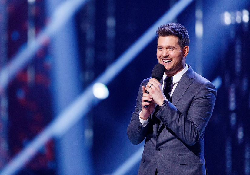 michael bublé takes on retirement rumors extratv com