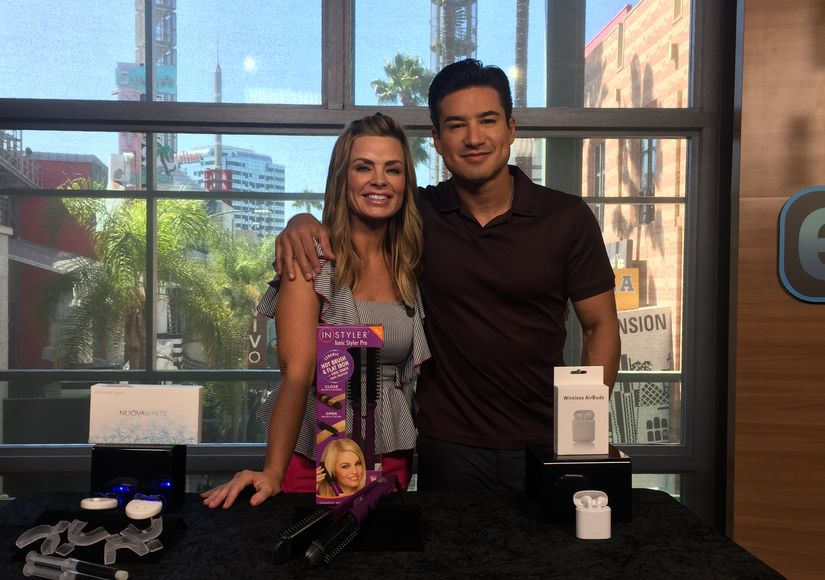 'Extra's' Pop-Up Shop: Teeth Whiteners, Hot Brushes, and Bluetooth Earbuds