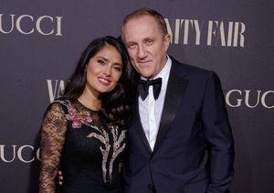 Salma Hayek's Billionaire Husband François-Henri Pinault Donates…