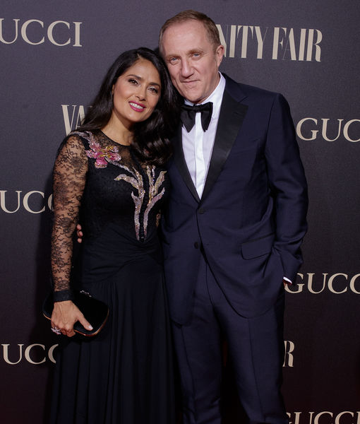 Salma Hayek's Billionaire Husband François-Henri Pinault Donates $113…