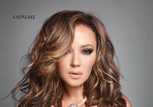 'Deadly Serious' Leah Remini Goes Glam for Lapalme