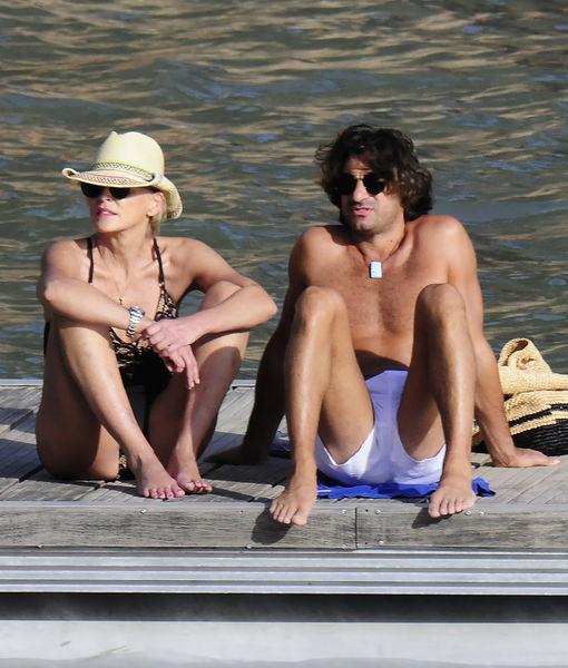 Sharon Stone & Angelo Boffa's Romance Heats Up on Spain Getaway