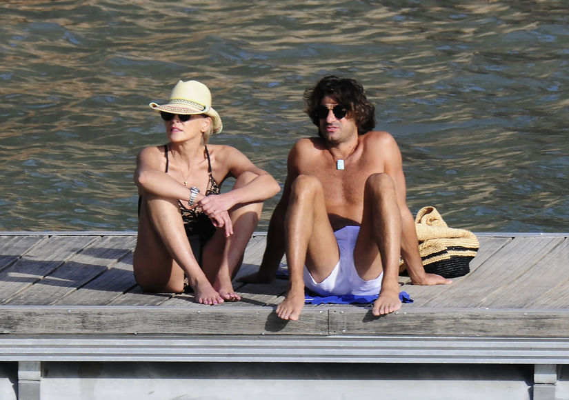 Sharon Stone & Angelo Boffa's Romance Heats Up on Spain Getaway