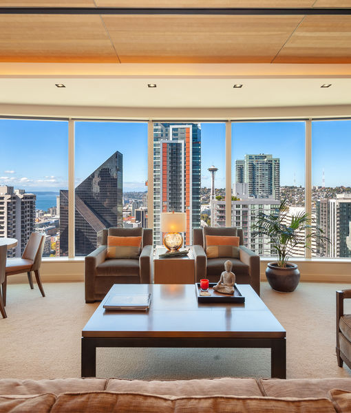 Real Estate Stunner! A Retired Starbucks Exec Just Listed His Seattle Penthouse