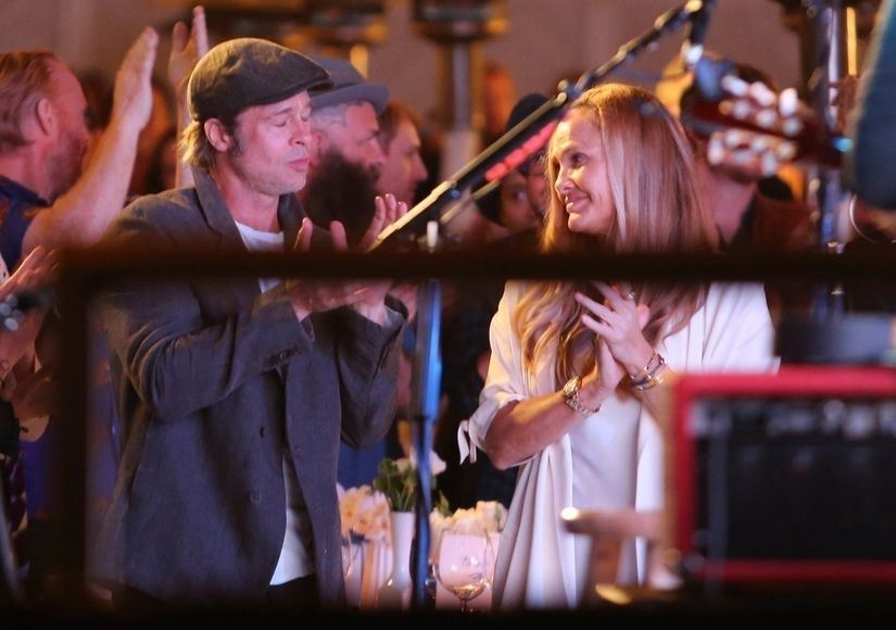 Brad Pitt Sparks Romance Rumors with Jewelry Designer — See the Pic That Has Everyone Talking!