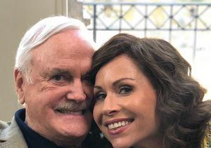 John Cleese & Minnie Driver Reunite on 'Speechless' — Would He Play…