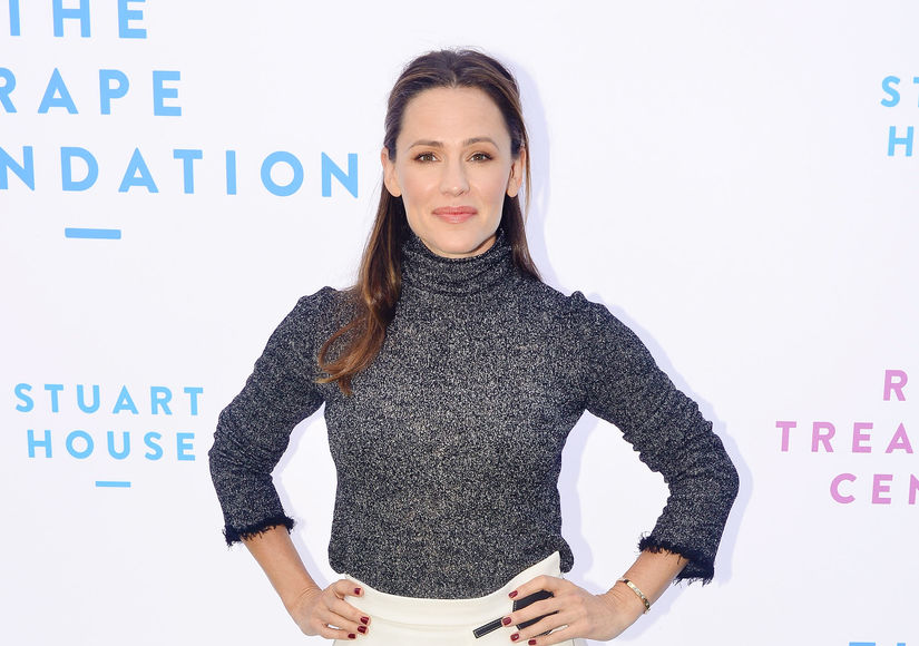 Jennifer Garner Nearly Suffers Embarrassing Wardrobe Malfunction at Church
