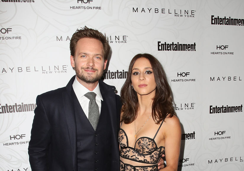 First Baby Pic! Patrick J. Adams & Troian Bellisario Welcome First Child